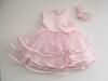 GROWING UP festliches Babykleid Deepsy rosa