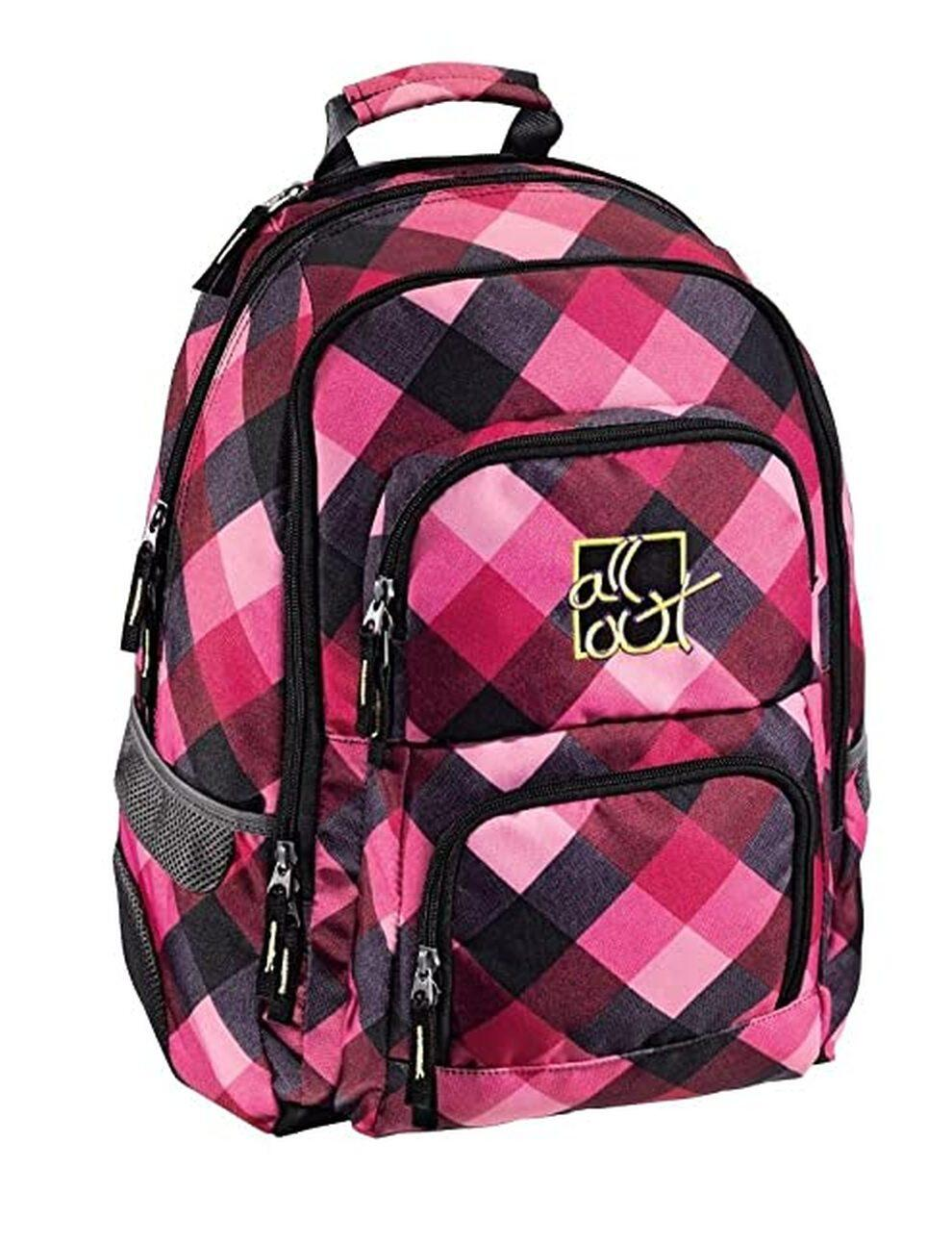 All Out Rucksack Louth Diamond Check