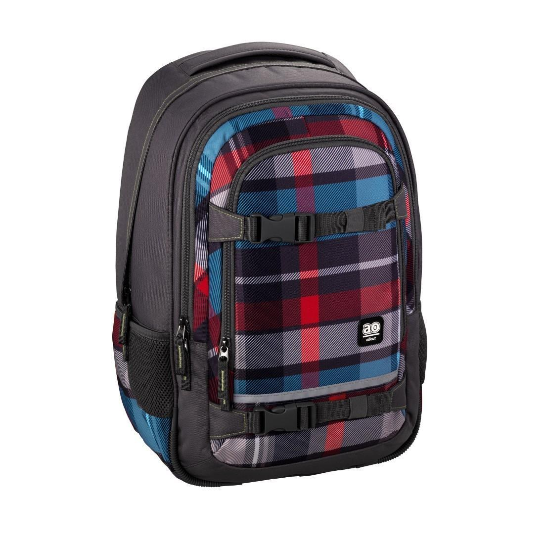 All Out Schulrucksack Selby Woody Grey