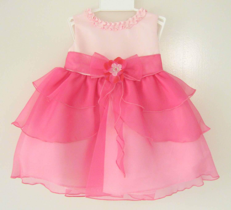 Festliches Kid Pink Collection Babykleid Rosa Lara ikPXuZ
