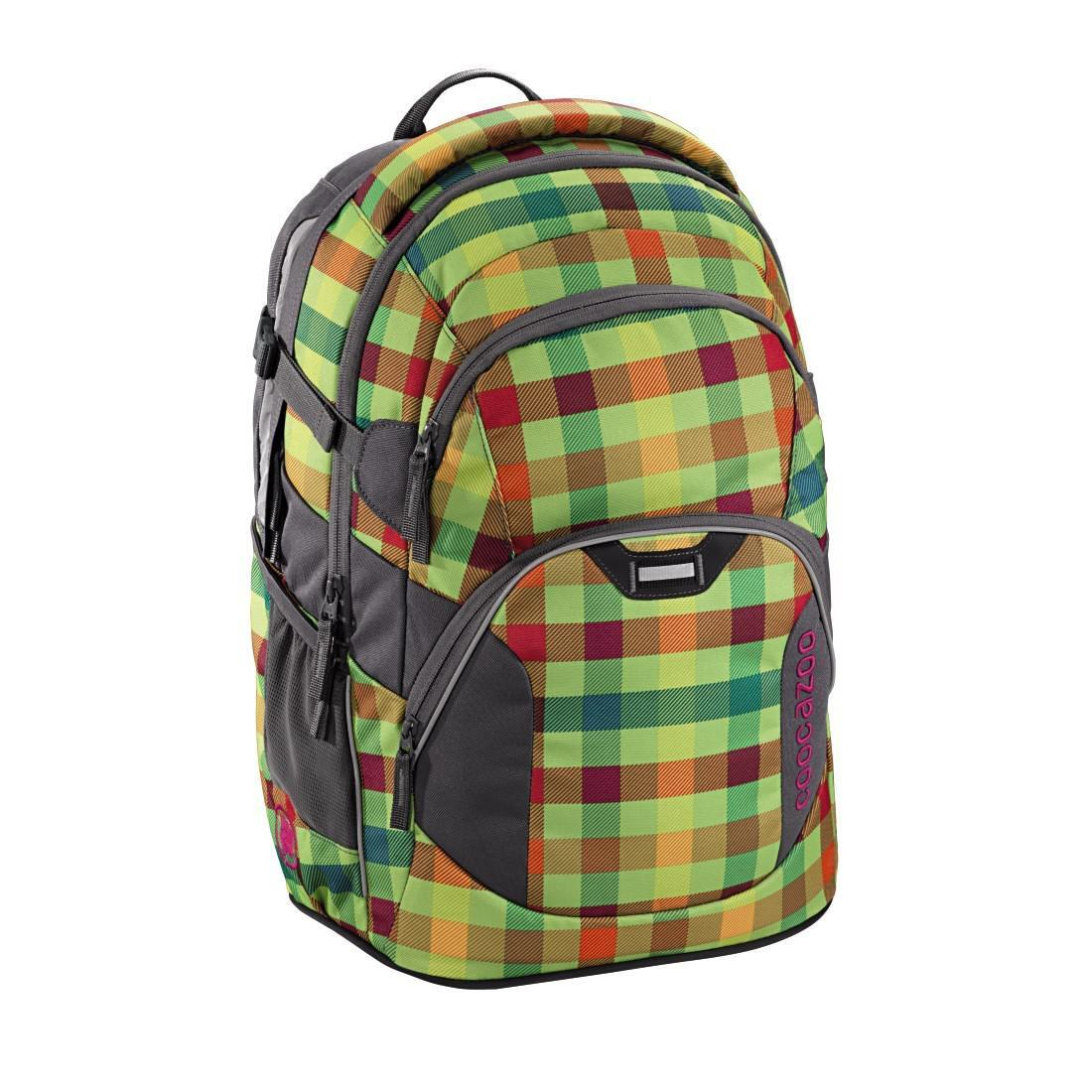 Coocazoo Schulrucksack  Rucksack Jobjobber2 Hip To Be Square Green
