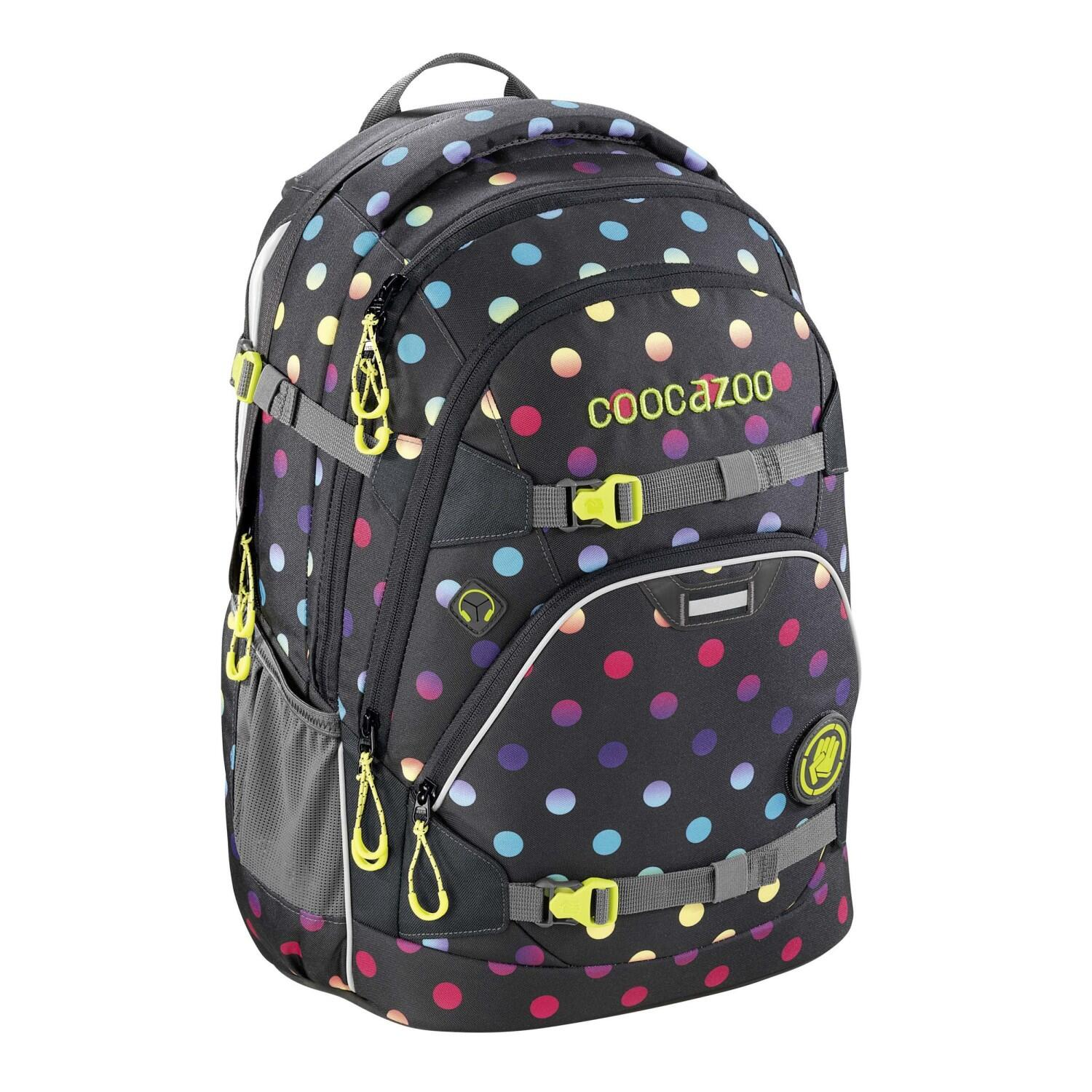 Coocazoo Schulrucksack Scalerale Magic Polka Colorful