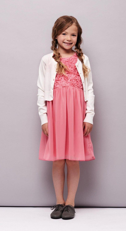 Creamie Kinder Mädchen Kleid festlich Aja