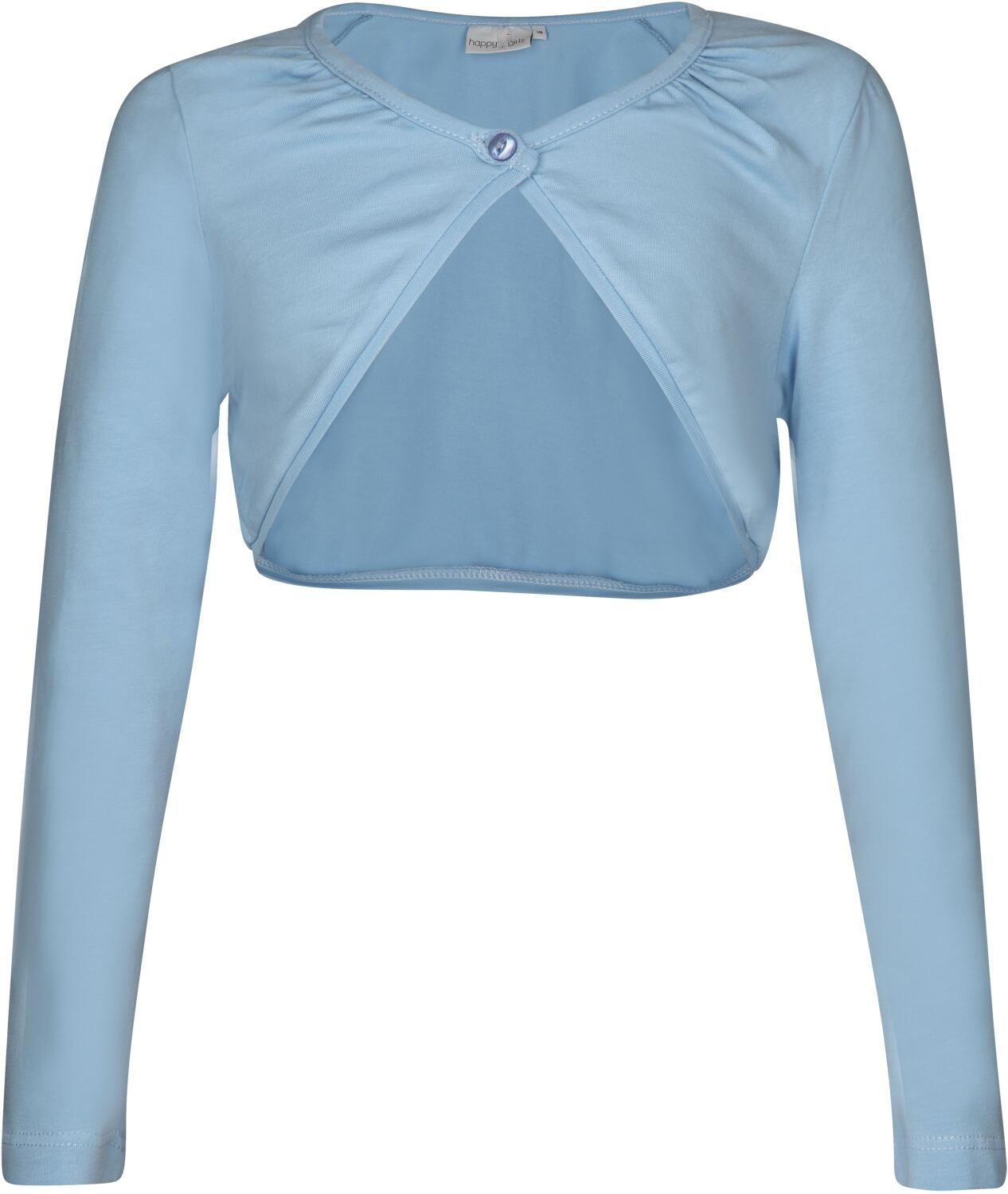 Happy Girls Kinder Baumwoll Bolero arctic blue