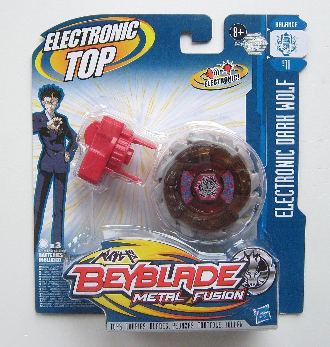 Beyblade BB-11 Metal Fusion Electronic Dark Wolf