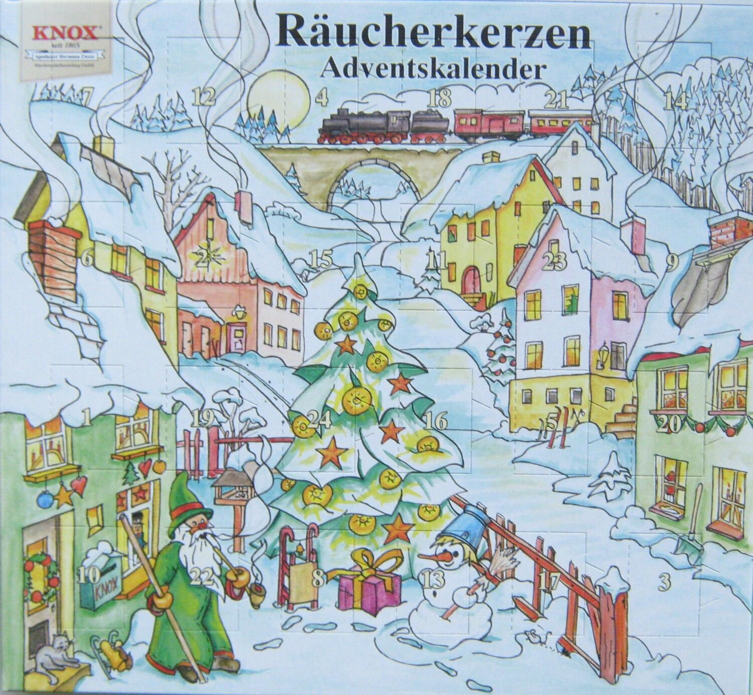 Knox Adventskalender Räucherkerzen