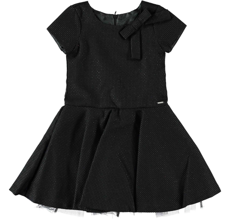 sarabanda kinder kleid festlich dark schwarz