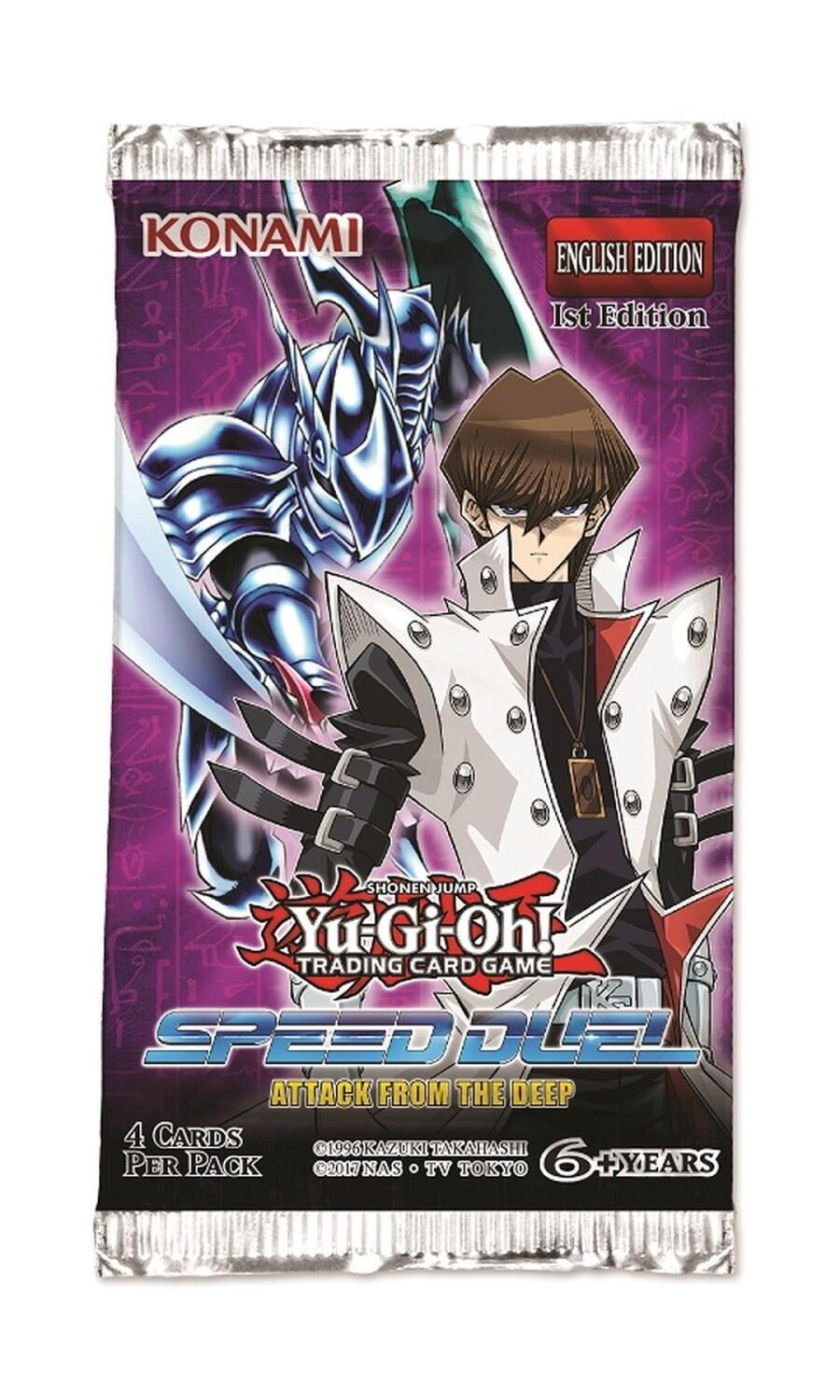 Yu-Gi-Oh! Booster Attack from the Deep deutsch