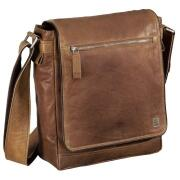 aha Leder Schultertasche Vintage Two Farbwahl