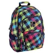 All Out Rucksack Louth Rainbow Check