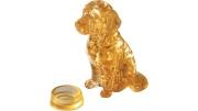 3D Crystal Puzzle 41 Teile Golden Retriever