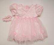 GROWING UP festliches Babykleid Taufkleid Jaqueline rosa
