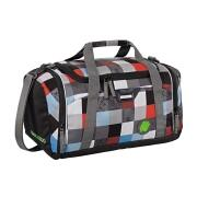 Coocazoo Sporttasche SporterPorter Checkmate Blue Red