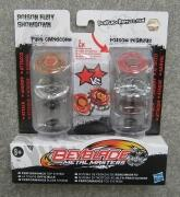 HASBRO BEYBLADE Metal Masters Poison Fury Showdown