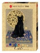 HEYE Puzzle 1000 Teile Jane Crowther Black Cat