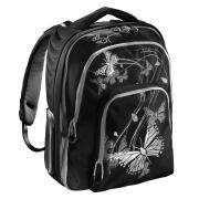 Hama All Out Schulrucksack Butterfly Silver