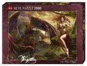Heye Puzzle 2000 Teile Forgotten Chris Ortega Eagle Queen