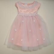 Kid Collection Babykleid Taufkleid Katherina rosa