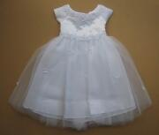 Kid Collection Babykleid Taufkleid Katherina weiß