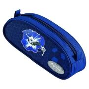 Sammies Optilight Schlamper Etui Soccer Blue