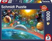 Schmidt Puzzle 1000 Teile Weltall
