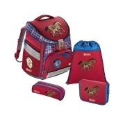Step by Step Comfort Schulranzen Set Horse Family