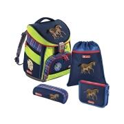 Step by Step Comfort Schulranzen Set Horse Family DIN 58.124