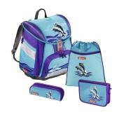 Step by Step Touch 2 Schulranzen Set Delfin Happy Dolphins