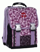 TAKE IT EASY Schulrucksack Set PURPLE MAZE