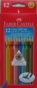 Faber-Castell Colour Grip Buntstifte 12er