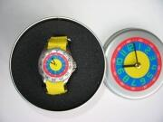 promo-watch Kinder Armbanduhr gelb