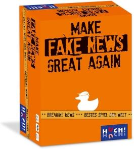 HUCH! Party-Spiel Make Fake News Great Again