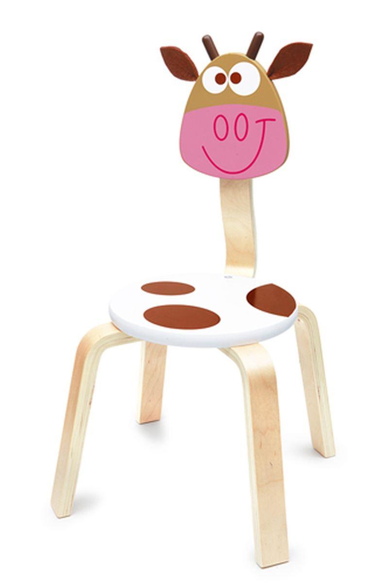 scratch holz kinder stuhl kuh marie. Black Bedroom Furniture Sets. Home Design Ideas