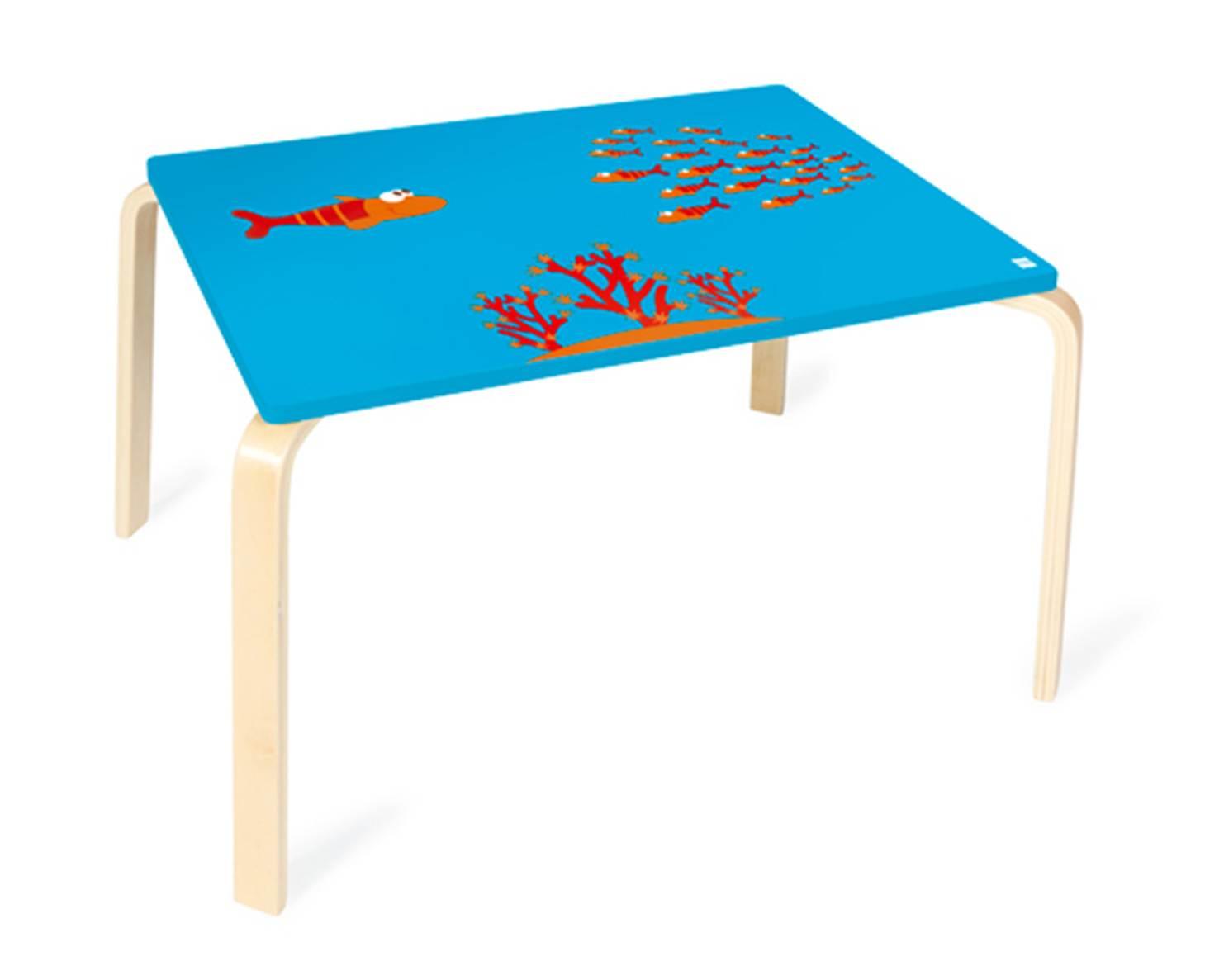 scratch holz kinder tisch fisch maurice. Black Bedroom Furniture Sets. Home Design Ideas